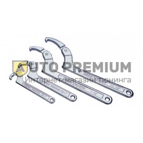 Ключ серповидный 50-119мм «Licota» AWT-HK013.