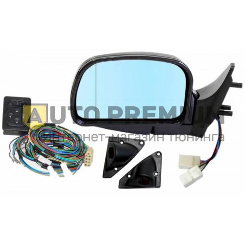Комплект боковых зеркала с эл.приводом и обогревом, антибликовые для ВАЗ 2113 2114, 2115